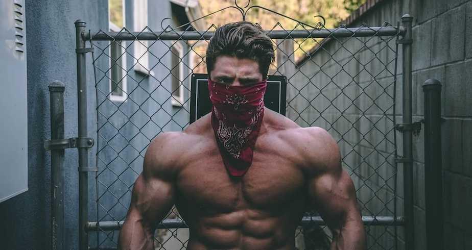 Ripped Muscular Man | ModernCalisthenics.com